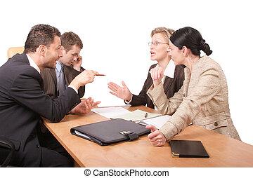 négociation, business
