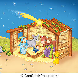 naissance, jesus's