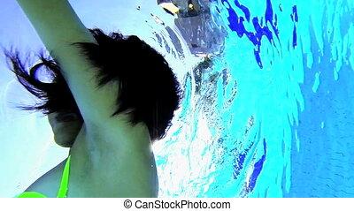 natation sous-marine