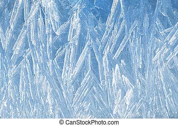 naturel, glace, texture