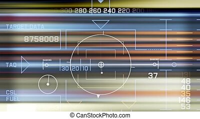 navigation, radar, logiciel, high-tech, jeu, informatique, exposer, écran, gps, papa, interface