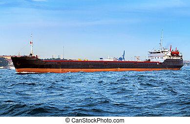 navire porte-conteneurs