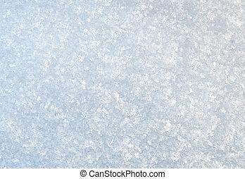 neige, texture