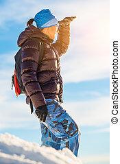 neige, trekking