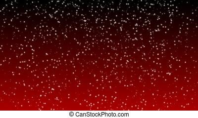 neiger, faire boucle, animation