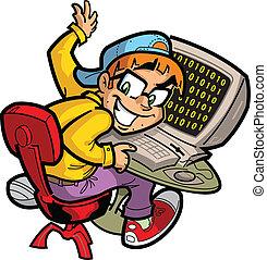 nerd informatique