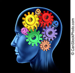 neurologique, symbole