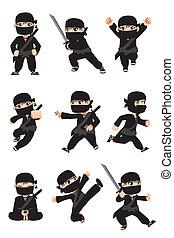 ninja, gosse