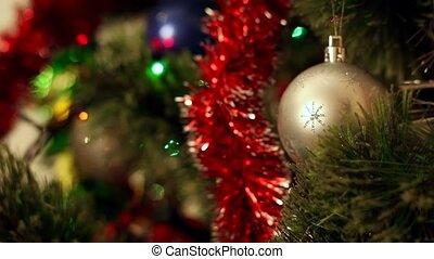 noël-arbre, décorations