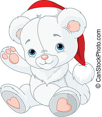 noël, ours, teddy
