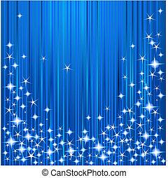 noël, raies étoiles