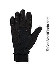 noir, gant cycle
