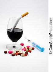 non, drogues, alcool, cigarettes