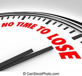 non, perdre, final, bas temps, dénombrement, minutes, horloge