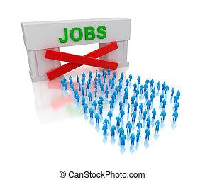 non, unemployment., jobs:, isolé