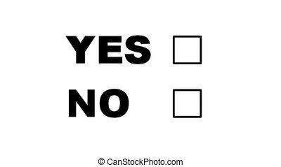 non, vote