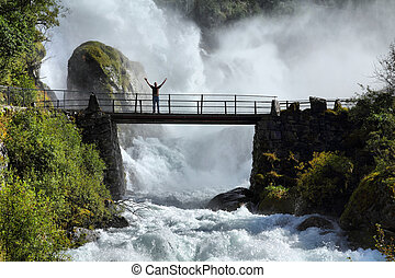 norvège, touriste