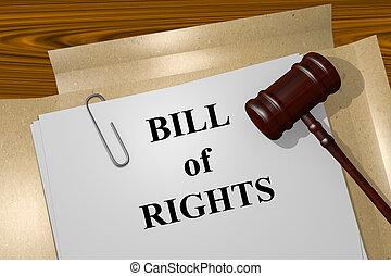 note, concept, droits