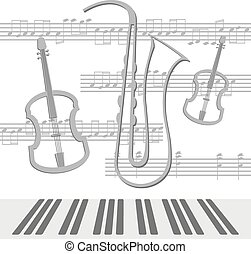 notes, alto