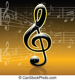 notes-melody, musique