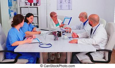 notes, presse-papiers, monde médical, écriture, practitoner, femmes