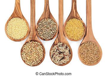 nourriture, grain, céréale
