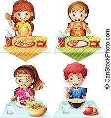nourriture, manger