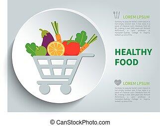 nourriture, organique
