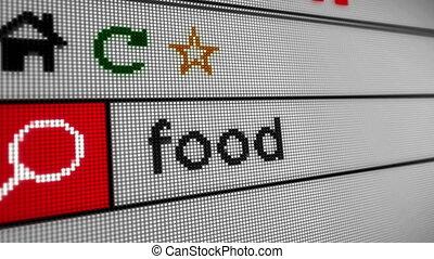 nourriture, recherche