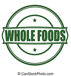 nourritures, entier