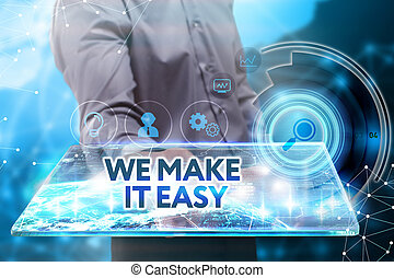 nous, voit, réseau, fonctionnement, inscription:, concept., tablette, il, jeune, avenir, facile, internet, homme affaires, il, business, faire, technologie