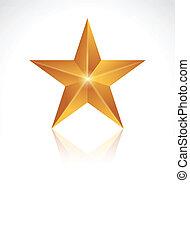 nouveau, étoile