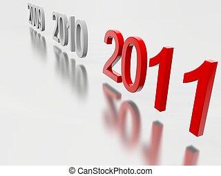 nouveau, 2011, année