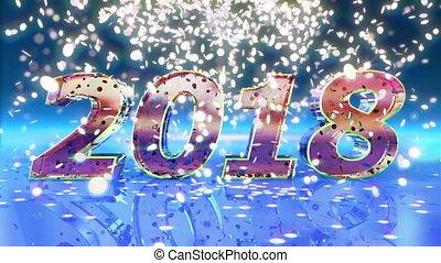 nouveau, animation, 2018, année