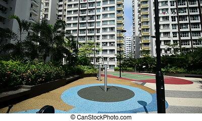 nouveau, appartements, singapour, gouvernement