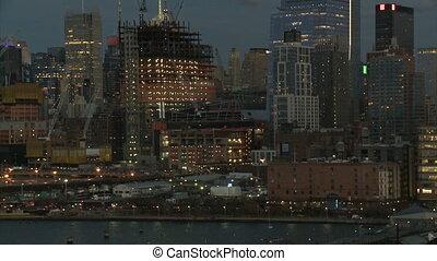 nouveau, bâtiments, construction, york