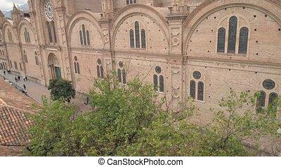 nouveau, bourdon, west., cathédrale