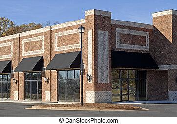 nouveau, commercial-retail-office, bâtiment