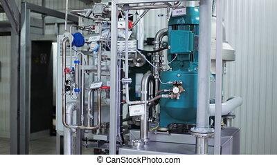 nouveau, industriel, moderne, équipement