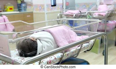 nouveau-né, crèche