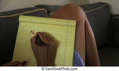 nouveau, resolutions, liste, années