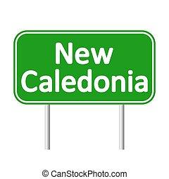 nouveau, signe., caledonia, route