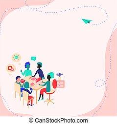 nouveau, tapé machine, enregistrement, créer, business, présence, rassemblement, choses, cyber, compte, informatique, idées, convertir, travail, imaginations, idée, histoires, frais, apprentissage