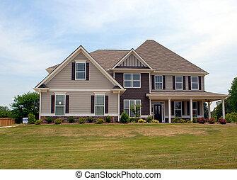 nouveau, vente, maison