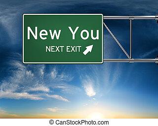 nouveau, vous, sortie, suivant
