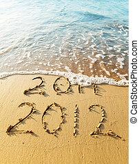 nouvel an, 2012