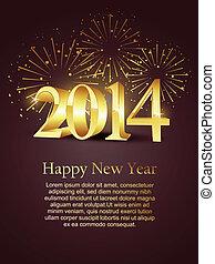 nouvel an, célébration