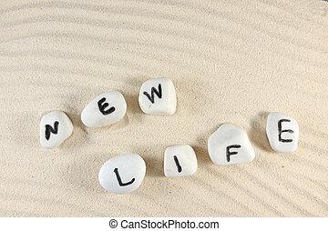 nouvelle vie, mot