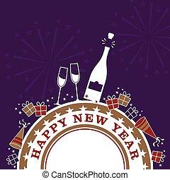 nouvelles années, célébration