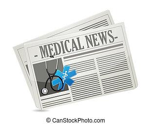 nouvelles, concept médical